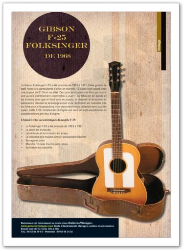 Pièces de guitare vintage à vendre